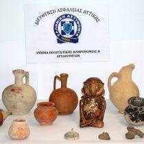 Σύλληψη για παράνομη κατοχή αρχαιοτήτων