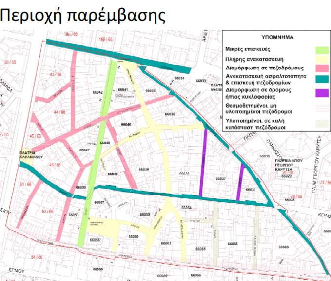 Το σχέδιο του δήμου Αθηναίων για την αποκατάσταση του ιστορικού εμπορικού τριγώνου της Αθήνας στην περιοχή ανάμεσα στο Σύνταγμα, την Ομόνοια και το Μοναστηράκι παρουσιάστηκε στο Κεντρικό Συμβούλιο Νεωτέρων Μνημείων.