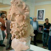 Ο Υπουργός Πολιτισμού στο Εθνικό Αρχαιολογικό Μουσείο