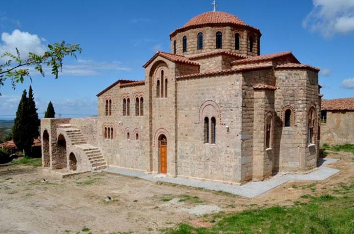Ο ναός της Μεταμόρφωσης του Σωτήρος στους Χριστιάνους Τριφυλίας.