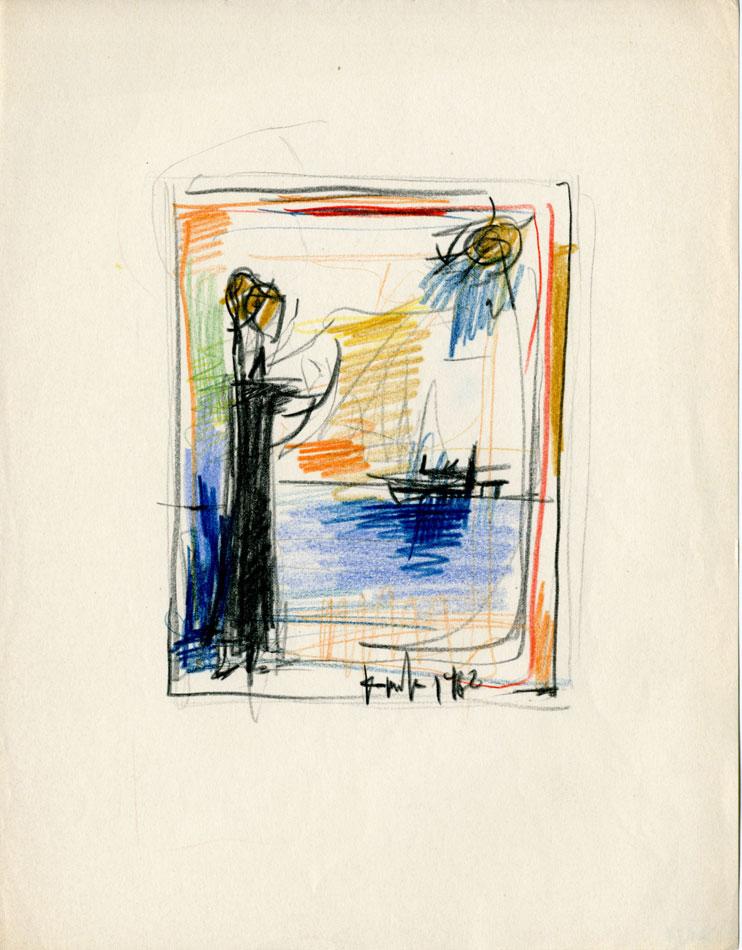 Δημοσθένης Κοκκινίδης, «Καλυψώ», 1962.