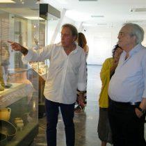 Τη Μονή Αρκαδίου και το Μουσείο της Ελεύθερνας επισκέφθηκε Α. Μπαλτάς