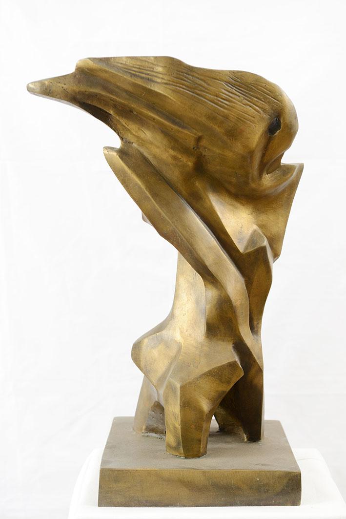 «Θαλάσσια Ανεμώνη», γλυπτό του Γεωργίου Καλακαλλά, Ομότιμου Καθηγητή της Σχολής Αρχιτεκτόνων του ΕΜΠ.