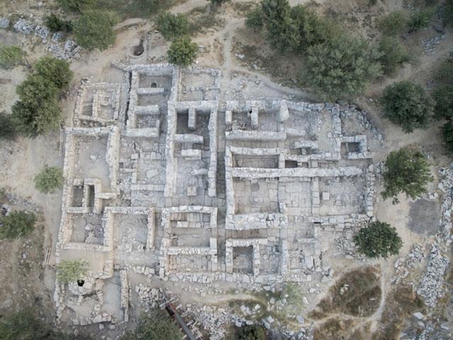 Άποψη της ανασκαφής στη Ζώμινθο (2016).