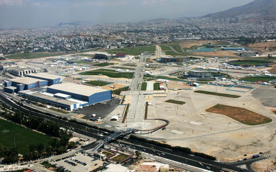 Άποψη του πρώην αεροδρομίου του Ελληνικού.