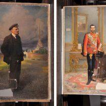 Τσάρος Νικόλαος Β' και Λένιν: οι δύο όψεις του ίδιου πίνακα