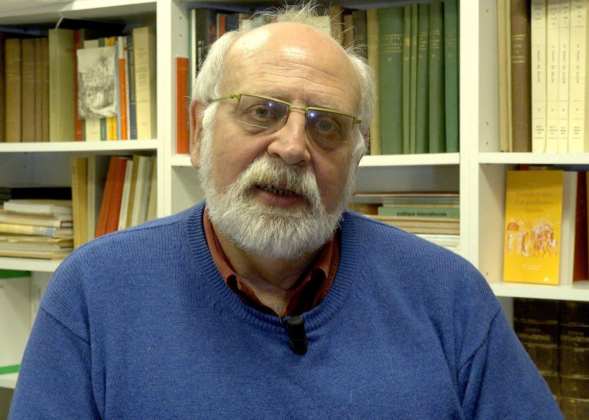 Ο καθηγητής βυζαντινών σπουδών, Πάολο Οντορίκο.