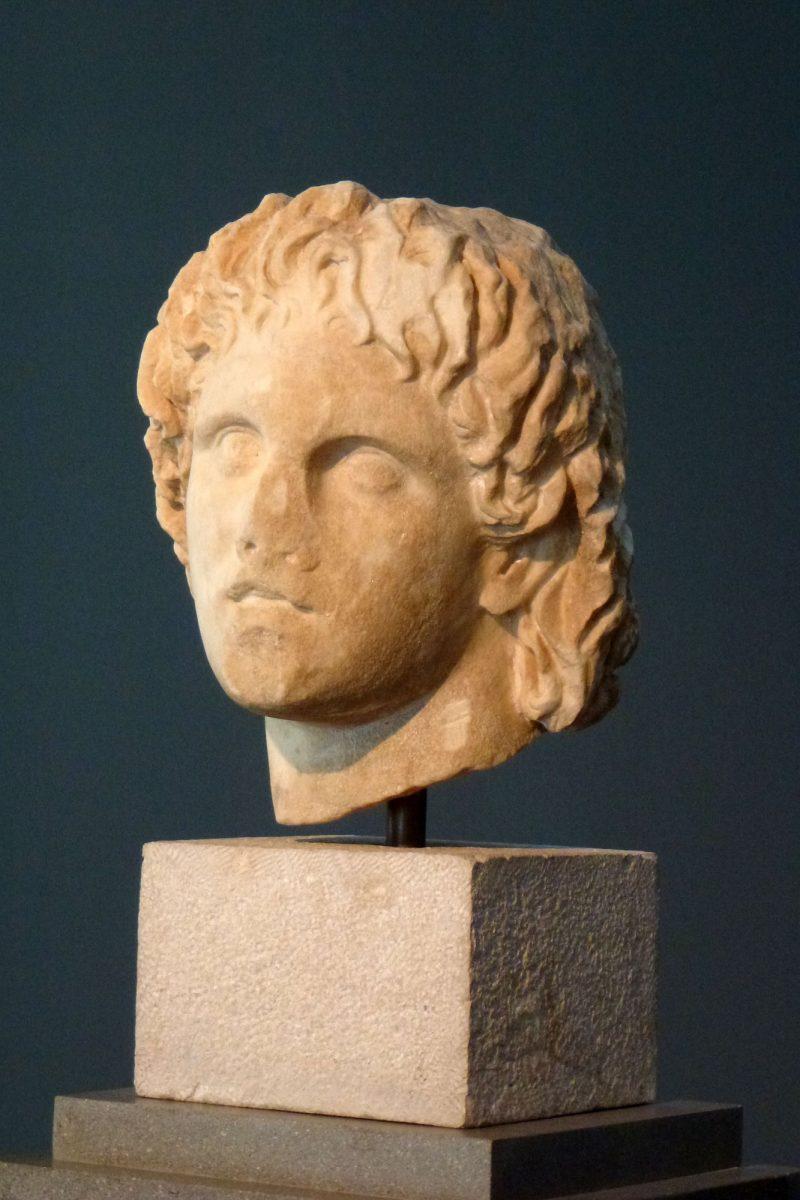 Μαρμάρινη κεφαλή του Μεγάλου Αλεξάνδρου