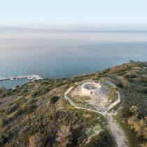 Αναστηλώθηκε το ταφικό μνημείο στις Κολόνες Σαλαμίνας