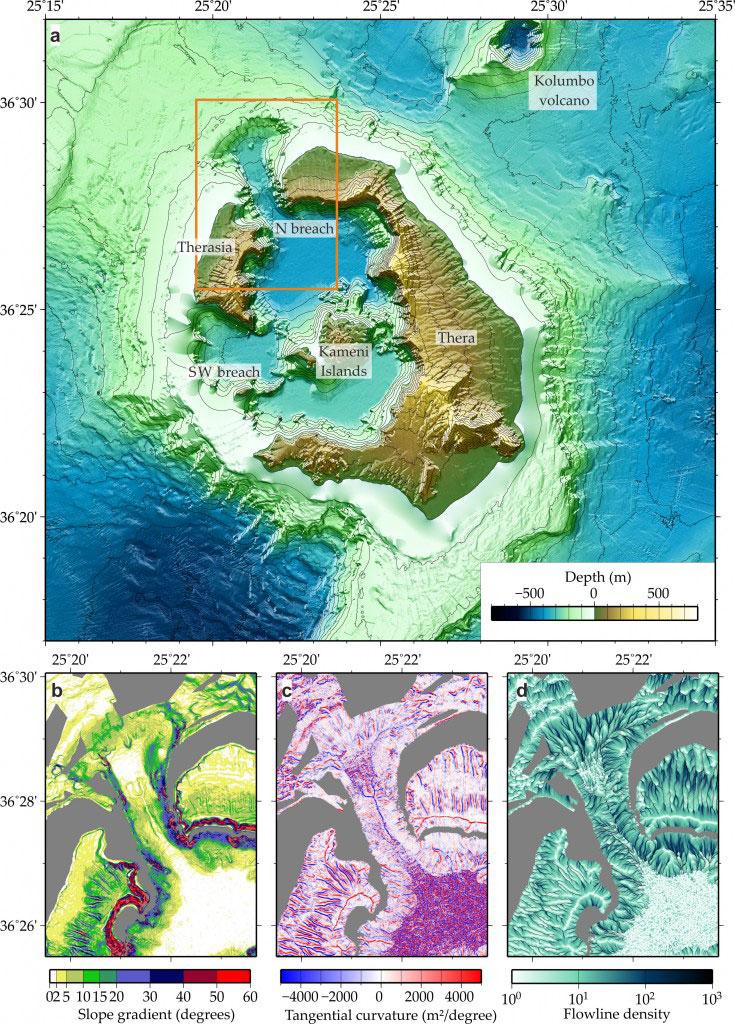 Νέα στοιχεία για την έκρηξη του ηφαιστείου της Σαντορίνης και το τεράστιο τσουνάμι που προκάλεσε