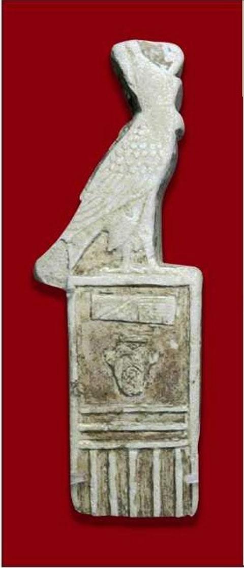 Ψηφίδα με το όνομα του Φαραώ Νεχώ Β' (610-595 π.Χ.), Αρχαιολογικό Μουσείο Ρόδου.