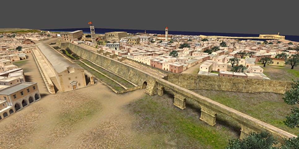 Εικ. 4. «Ηράκλειο, κάθε βήμα ... ένα ταξίδι στην ιστορία». Ηλεκτρονική Περιήγηση στην Παλιά Πόλη Ηρακλείου».