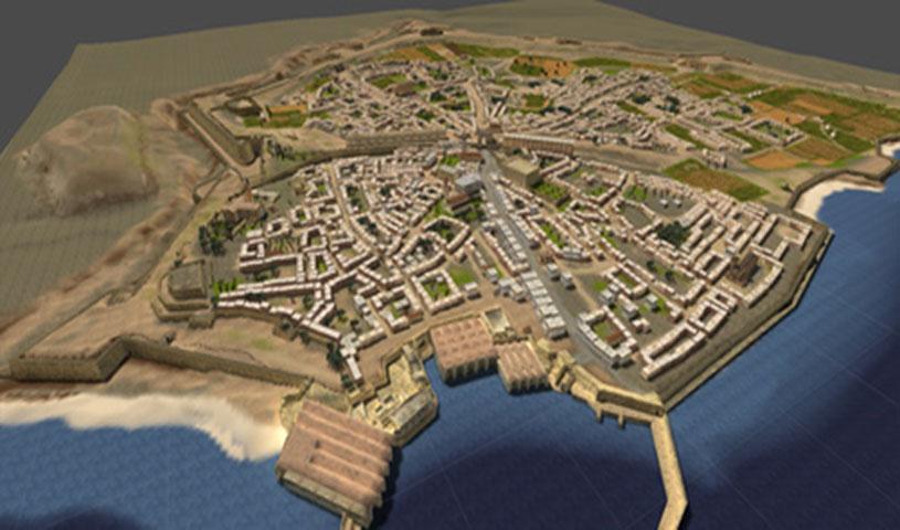 Εικ. 5. «Ηράκλειο, κάθε βήμα ... ένα ταξίδι στην ιστορία». Ηλεκτρονική Περιήγηση στην Παλιά Πόλη Ηρακλείου».