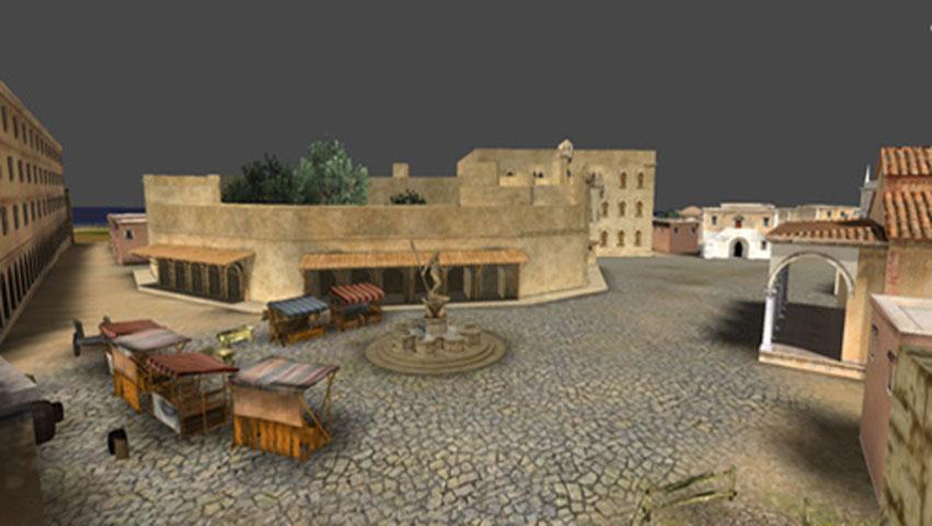 Εικ. 6. «Ηράκλειο, κάθε βήμα ... ένα ταξίδι στην ιστορία». Ηλεκτρονική Περιήγηση στην Παλιά Πόλη Ηρακλείου».