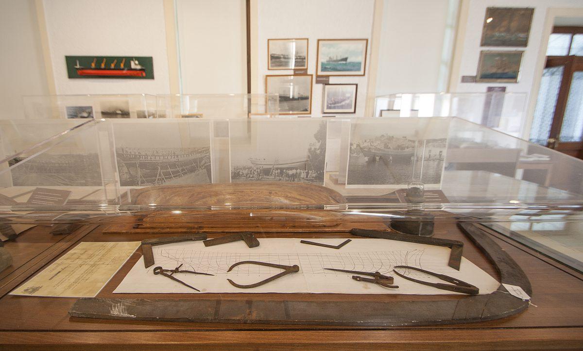 Χνάρι, Ναυτικό Μουσείο Σκιάθου