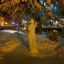 Η Αφροδίτη της… Φλώρινας φτιαγμένη από χιόνι