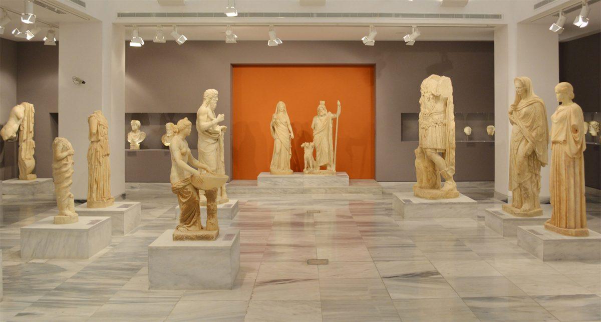 Άποψη της Συλλογής Γλυπτών του Αρχαιολογικού Μουσείου Ηρακλείου (Εφορεία Αρχαιοτήτων Ηρακλείου).