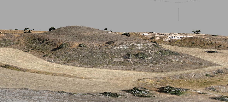 Ο Τύμβος της Λαόνας (φωτ. Τμήμα Αρχαιοτήτων Κύπρου).