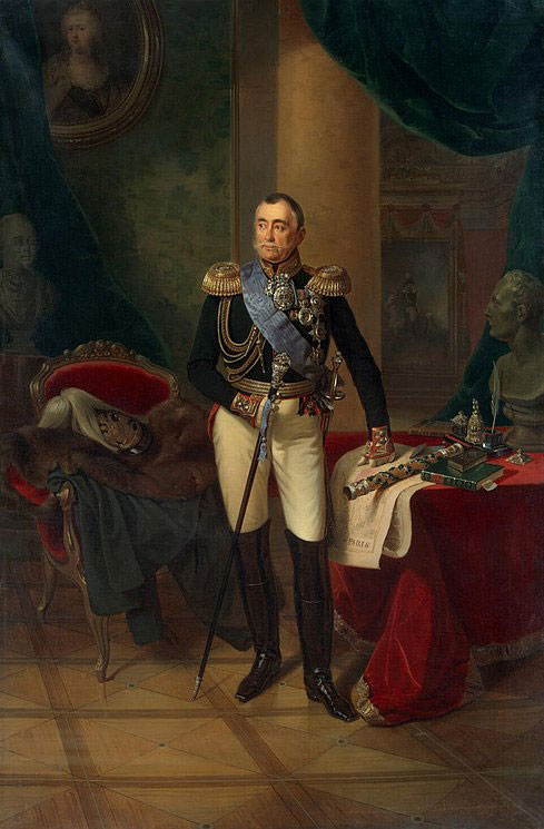 Πορτρέτο του Πρίγκιπα Πιότρ Βολκόνσκι.