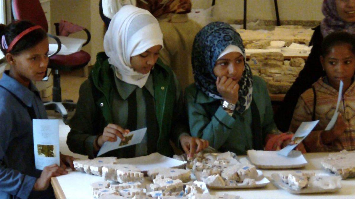 Εικ. 35. Ιορδανία. Νεκρά Θάλασσα. Αρχαιολογικό Μουσείο στον αρχαιολογικό χώρο της Μονής Αγίου Λωτ. Οργάνωση εκπαιδευτικών προγραμμάτων.