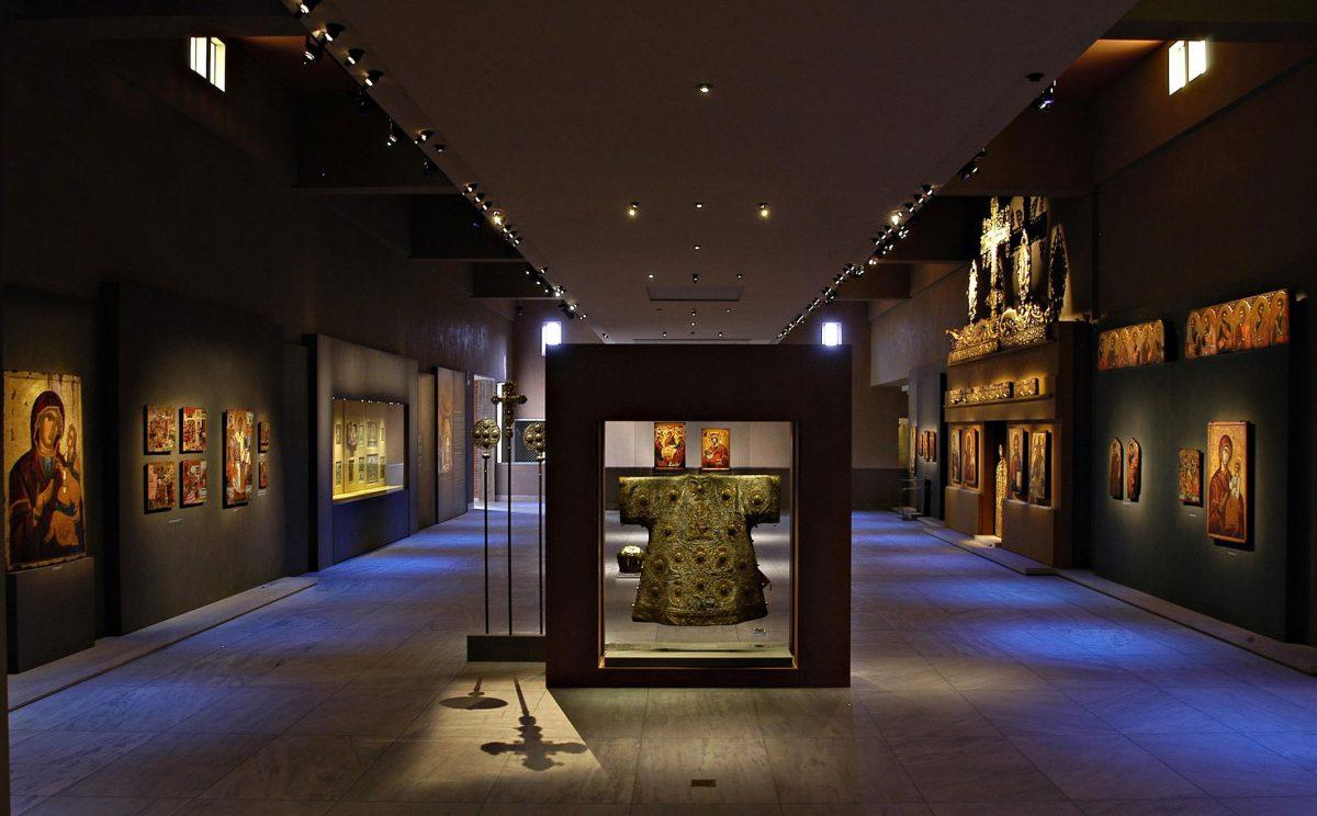 Εικ. 5. ΜΒΠ, 10η αίθουσα: «Το Βυζάντιο μετά το Βυζάντιο. Η βυζαντινή κληρονομιά στους χρόνους μετά την Άλωση, 1453 – 19ος αι.».