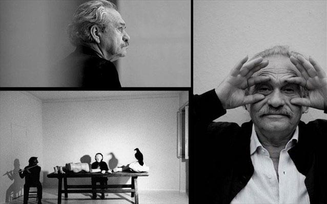 Ο διεθνής Έλληνας εικαστικός, με το ριζοσπαστικό έργο, από τα «ταπεινά» υλικά της arte povera μετέτρεψε την ακαδημαϊκή αντίληψη του χώρου σε λαϊκό τοπίο.