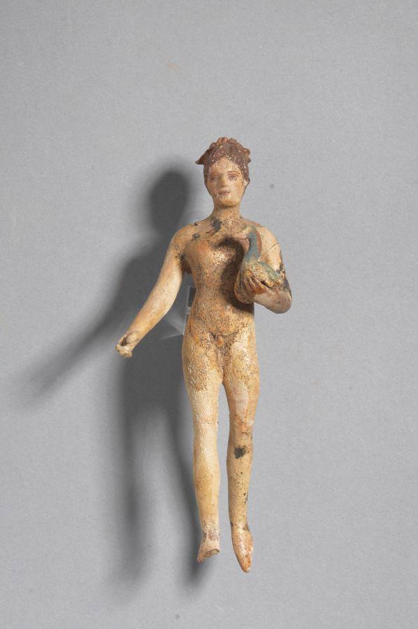 Ιπτάμενος έρωτας. 350-300 π.Χ. Τύμβος Νικήσιανης Καβάλας.