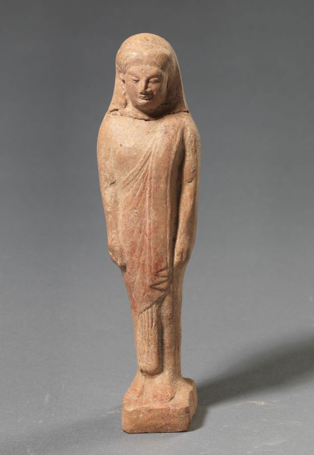 Κούρος. 550-525 π.Χ. Αρχαιολογικό Μουσείο Θεσσαλονίκης.