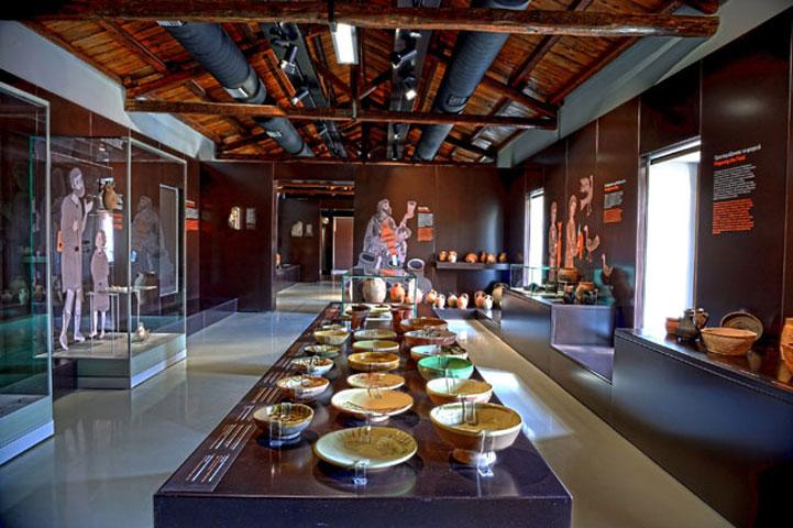 Άποψη αίθουσας του Βυζαντινού Μουσείου Αργολίδας (φωτ. ΥΠΠΟΑ).
