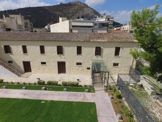Το Βυζαντινό Μουσείο Αργολίδας στεγάζεται σε ένα σημαντικό διατηρητέο μνημείο, τους Στρατώνες Καποδίστρια (φωτ. ΥΠΠΟΑ).