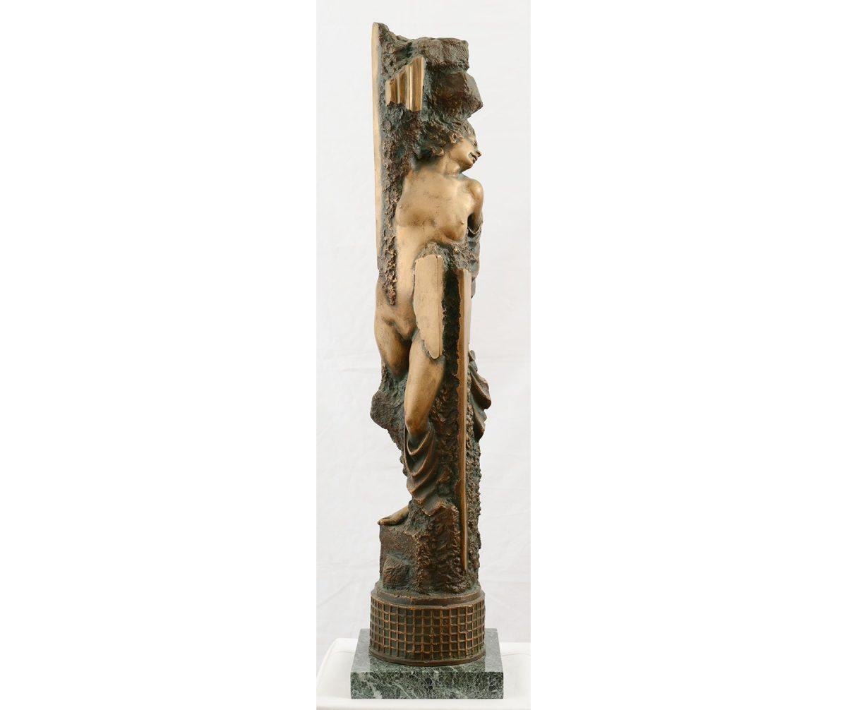 Δημήτριος Αρμακόλλας, «Κόρη της Θάλασσας», 60x40x30 εκ., ορείχαλκος (© Ευγενής παραχώρηση: Σύλλογος Γλυπτών Ελλάδος).