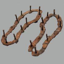 Σιδερένια καττύματα. 500-475 π.Χ. Αρχαιολογικό Μουσείο Ναυπλίου. Φωτ.: Αρχείο Εφορείας Αρχαιοτήτων Αργολίδας / ΥΠΠΟΑ – ΤΑΠ.