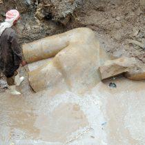 Βρέθηκε κολοσσιαίο άγαλμα που πιθανότατα απεικονίζει τον Ραμσή Β΄