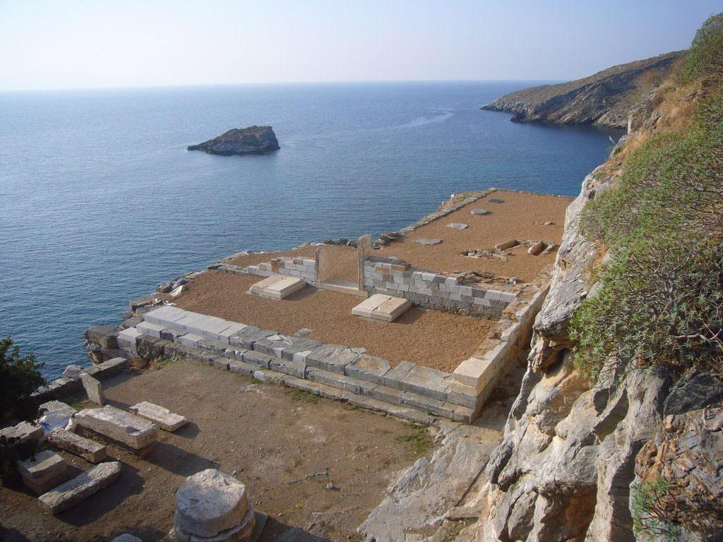 Αρχαία Καρθαία: Ο ναός του Απόλλωνα μετά το πέρας των εργασιών (πηγή φωτογραφίας: Europa Nostra).