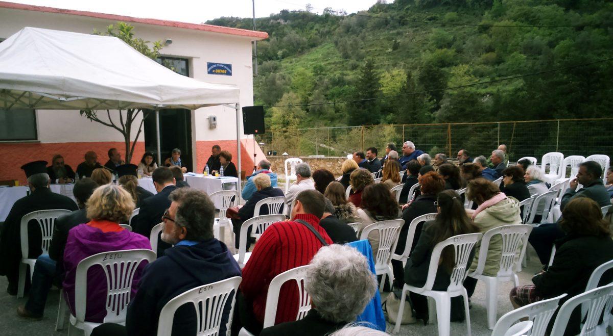 Την Παρασκευή 21 Απριλίου, πραγματοποιήθηκε στα Γουλεδιανά η δεύτερη συνάντηση για την ανάδειξη του αρχαιολογικού χώρου της Ονιθές.