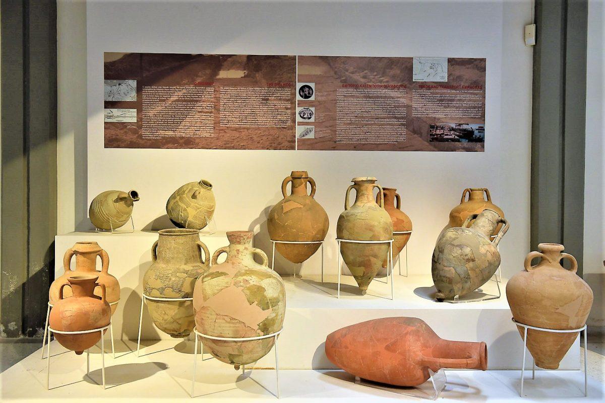 Υποενότητα εμπορίου, Αρχαιολογικό Μουσείο Ισθμίας