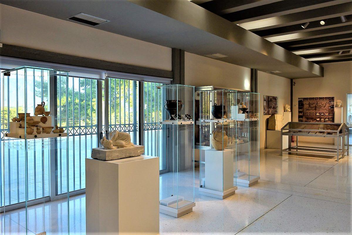 Υποενότητα ιερών, Αρχαιολογικό Μουσείο Ισθμίας