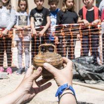 Μυκηναϊκός θαλαμοειδής τάφος αποκαλύφθηκε στη Σαλαμίνα