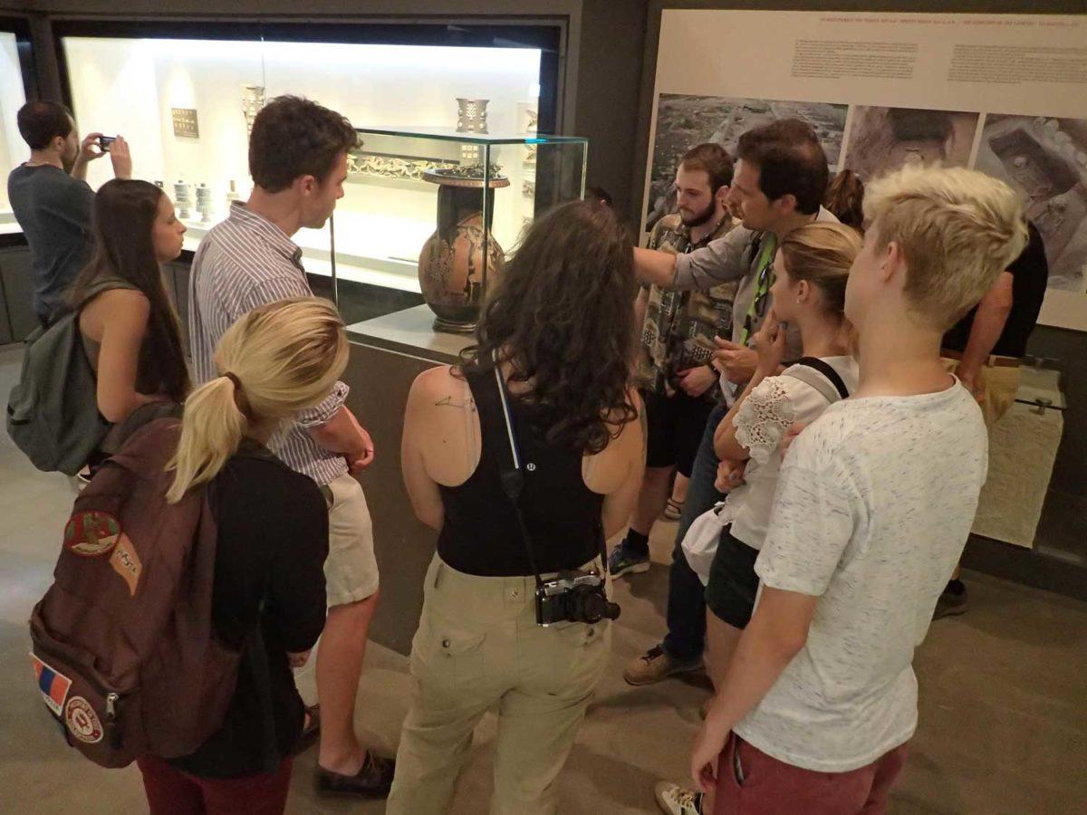 Το «Διεθνές θερινό σχολείο αρχαιολογίας και ελληνικής γλώσσας» διοργανώνεται για πρώτη φορά φέτος.