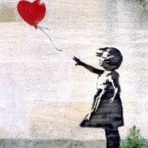 Ένα γκράφιτι του Banksy είναι το πιο αγαπημένο έργο των Βρετανών