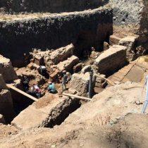 Λαξευτή αρχαία σήραγγα αποκαλύπτεται στους κήπους Σαλαλάτ