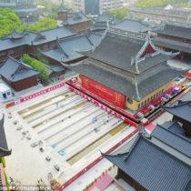 Μετακίνησαν ιστορικό ναό στη Σανγκάη