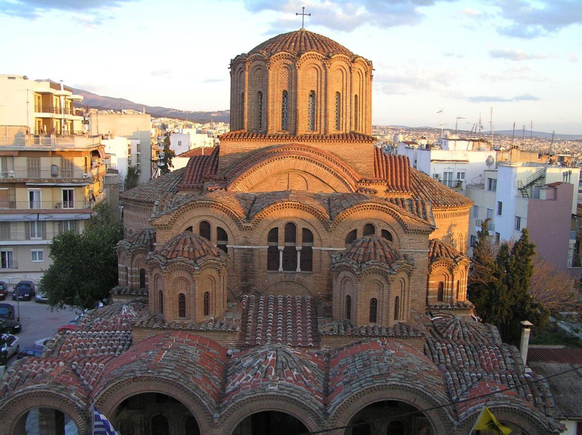 Εικ. 5. Ο ναός του Προφήτη Ηλία. Άποψη από βορειοδυτικά (ώρα 18:28, Μάρτιος).