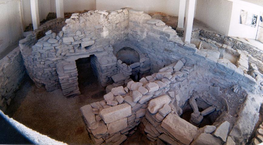Ρωμαϊκό εργαστήριο κεραμικής από την Πάρο (φωτ.: ΑΠΕ-ΜΠΕ).