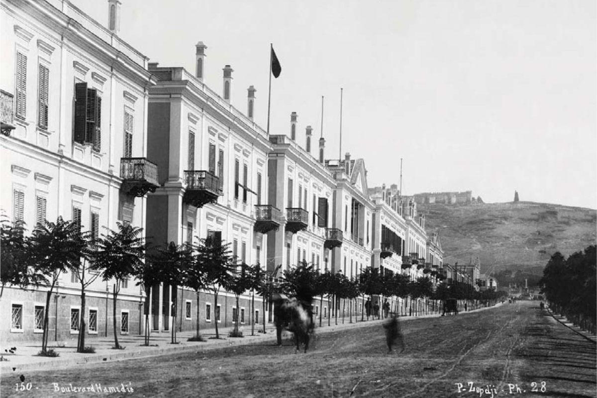 Άποψη της Συνοικίας των Εξοχών στη Θεσσαλονίκη.