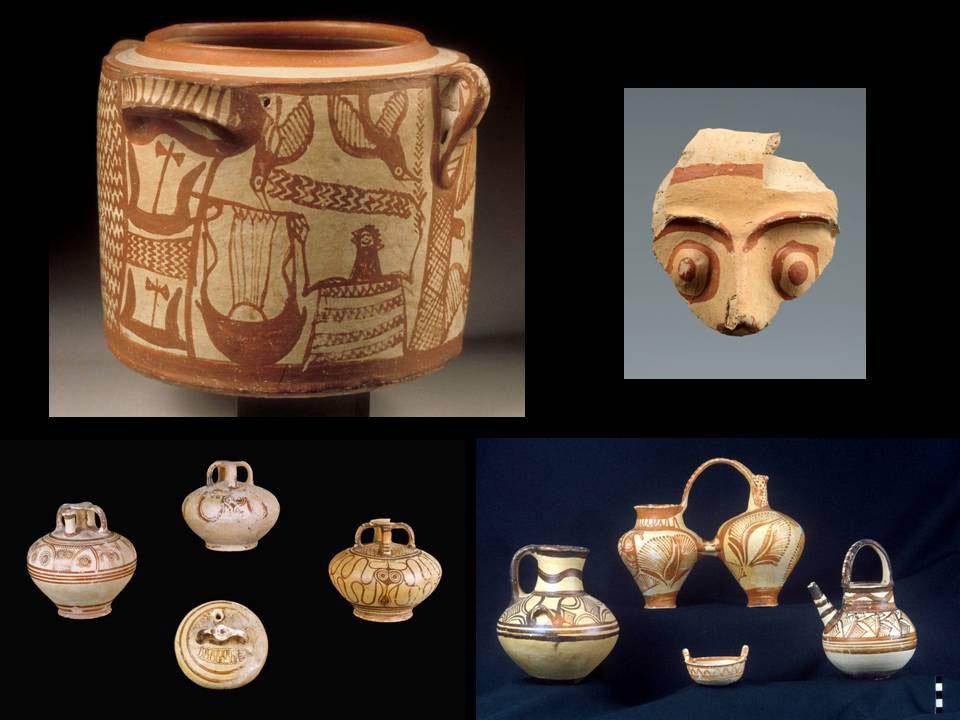 Ευρήματα από το μυκηναϊκό ανάκτορο της Κυδωνίας (φωτ.: ΑΠΕ-ΜΠΕ / Μαρία Ανδρεαδάκη-Βλαζάκη).