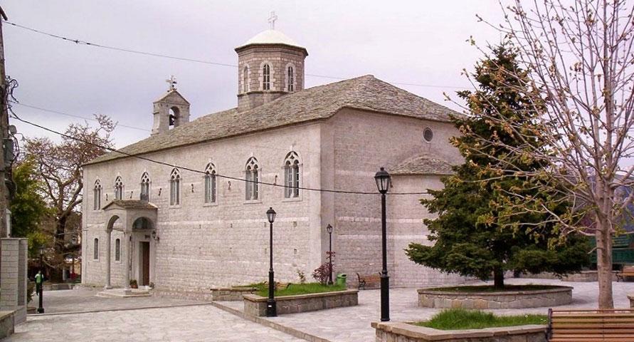 Ο ναός της Αγίας Παρασκευής Πραμάντων (φωτ.: epiruspost.gr).
