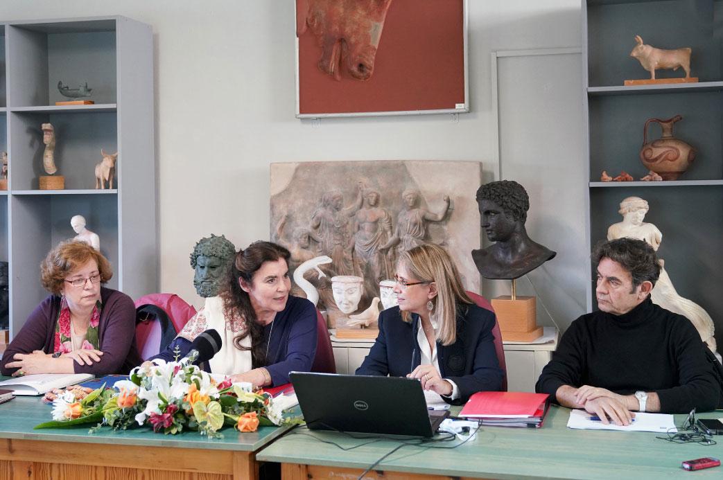 «Πιστεύουμε στο αναπτυξιακό όραμα του ΤΑΠ» ανέφερε μεταξύ άλλων η νέα πρόεδρος του Ταμείου, Αθηνά Χατζηπέτρου.