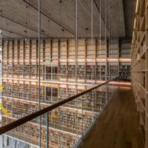Η Εθνική Βιβλιοθήκη επαναλειτουργεί σταδιακά στη νέα της στέγη