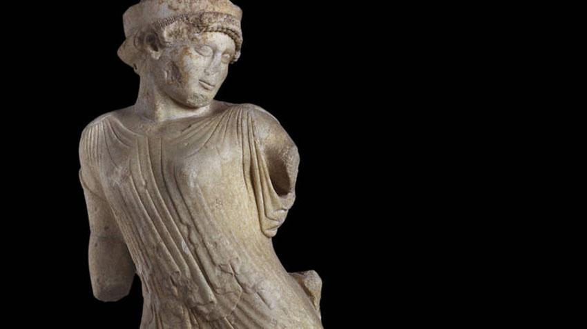 Η Φεύγουσα Περσεφόνη, α' μισό 5ου αιώνα π.Χ. (φωτ.: ΑΠΕ-ΜΠΕ).